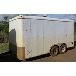 Journey by Pace American 2-Axle Enclosed Cargo Trailer 5000 Lb Capacity