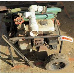 Portable Pump w/ Hoses & Honda 5.5 CX160 Engine