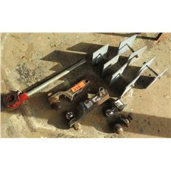 Multiple Ball Mount Hitches, Pintle Hook, Threader, Spacers etc