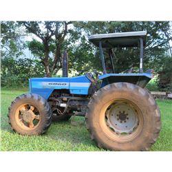 Landini Evolution 6860 Farm Tractor, 2563 Hours (Runs & Drives, PTO Inoperable)