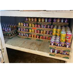 Approx. 17 Cases of Assorted Hawaiian Sun Soft Drink Beverages