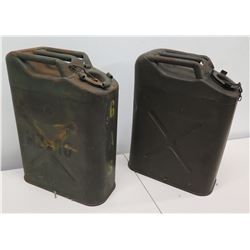 Qty 2 3R Military Gas Cans