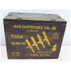 Ammo Can for 240 Cartridges Cal .50 TIIGV All Ball M3