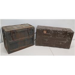 Qty 2 Ammo Cans Ammunition for Cannon with Explosive Projectiles