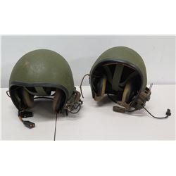 Qty 2 Helmets