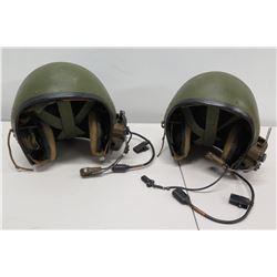 Qty 2 Tanker Helmets