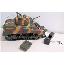 WWII Remote Control Marine Corp Tank, Approx. 2 feet Long