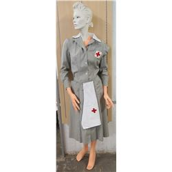 WWII Red Cross Uniform & Mannequin