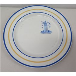 "Hurd-Pohmana Co Honolulu Mayer China Hickam Field 10"" Plate"