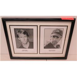 "Framed Movie ""Pearl Harbor"" Stars - Michael Bay, Jerry Bruckheier 20"" x 15"""