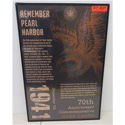 "Framed 'Remember Pearl Harbor' 70th Anniversary Print 20"" x 30"""