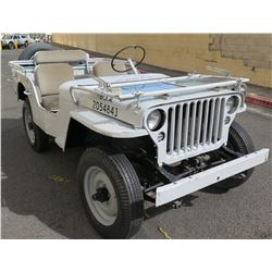Authentic 1942 Willys Jeep -  (No Engine or Transmission), No Title