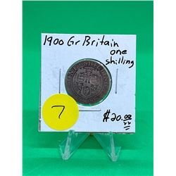 1900 GREAT BRITAIN ONE SHILLING