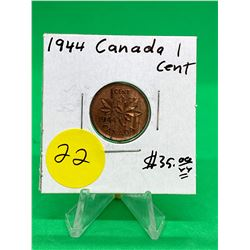 1944 CANADA 1 CENT.MS++