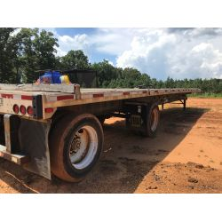 2000 TRANSCRAFT T/A Flatbed Trailer