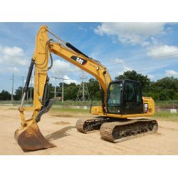 2017 CATERPILLAR 313FL GC Excavator