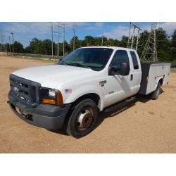 2007 FORD F350 Service / Mechanic / Utility Truck