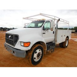 2003 FORD F650 Service / Mechanic / Utility Truck