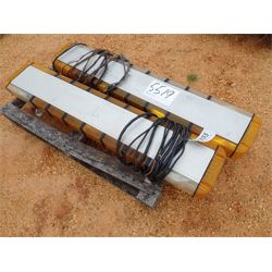 (2) YELLOW LIGHT BARS Truck Product and Accessory