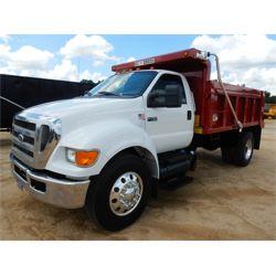 2011 FORD F750 Dump Truck