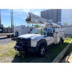 2013 FORD F550 Boom / Bucket / Crane Truck