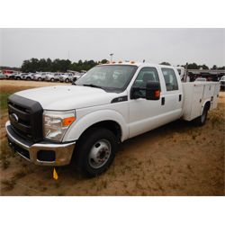2015 FORD F350 Service / Mechanic / Utility Truck