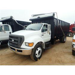 2009 FORD F750 Dump Truck