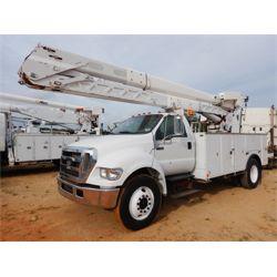 2007 FORD F750 Boom / Bucket / Crane Truck