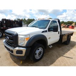 2013 FORD F450XL Flatbed Truck