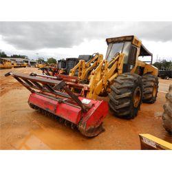 HYDRO AX 711E Mulcher / Brush Tractor