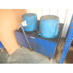 OIL DRAIN CART Shop Equipment