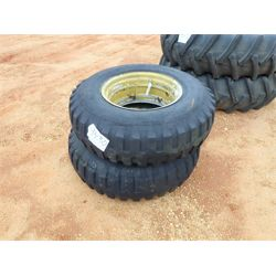(2) INDUSTRIAL TRACTOR TIRES Tire