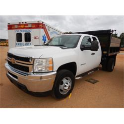 2011 CHEVROLET 3500HD Flatbed Dump Truck
