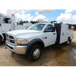 2012 RAM 5500 Service / Mechanic / Utility Truck