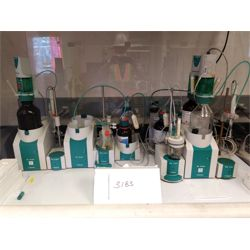 Metrohm and Brandtech Titrator Set