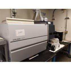 Shimadzu ICPE-9000 Plasma Atomic Emission Spectrometer with Eyela CA-1115 Recirculating Bath