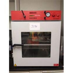 Binder Vacuum Oven with vacuum pump