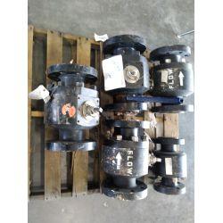 "APPROX (1) 3"" 600# Ball valve, APPROX (4) 4"" 600# Ball valves Miscellaneous"