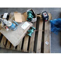 "Gear box, Steam trap, Safety relief valve, 3 - 1"" 600# Ball valves Miscellaneous"