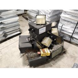 Used Halogen outdoor  -  Approx. 20 Miscellaneous