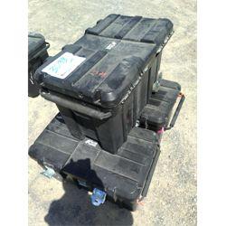 """3 - Utility Storage Tote 17""""D x 13.5"""" W x 27""""L Miscellaneous"""