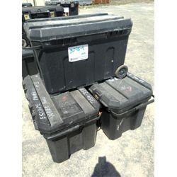 """3 - Utility Storage Tote 18"""" x 34""""L x 20 1/2"""" D  Miscellaneous"""
