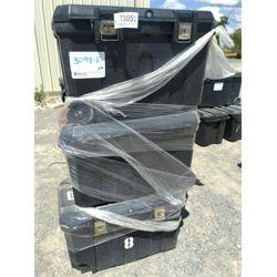 "3 - Utility Storage Tote 18"" x 34""L x 20 1/2"" D Plastic Storage Boxes Miscellaneous"