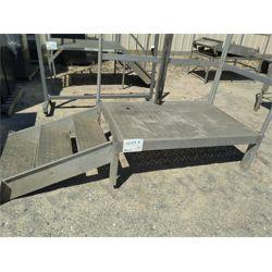 Temp. Stairs Aluminum Miscellaneous