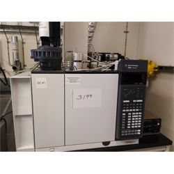 Agilent 7890B Gas Chromatograph with G4513A Liquid Autosampler and Valco Pulsed Discharge Controller