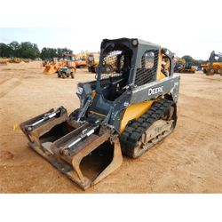 2013 JOHN DEERE 319D Skid Steer Loader - Crawler