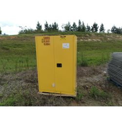 "UNLINE Model# H-2219M-Y FLAMMABLE STORAGE CABINET 65""H X 43W X 34DEPTH Miscellaneous"