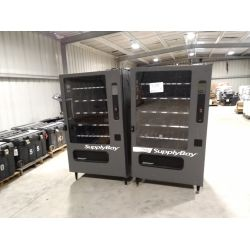 (2) SUPPLY BAY VENDING MACHINE-USED TO VEND PPE  Miscellaneous