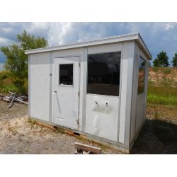 GUARD SHACK W/HVAC WINDOW UNIT  Miscellaneous