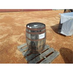 WOODEN WHISKEY BARREL  Miscellaneous